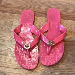 Tory Burch jelly slides